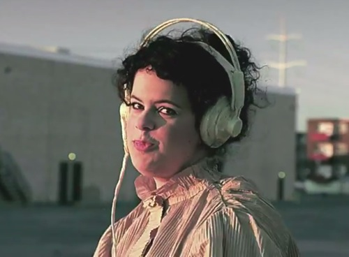 Régine Chassagne in Arcade Fire's: Sprawl