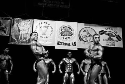 ÒMr. AzerbaijanÓ professional bodybuilding competition for men. Baku.