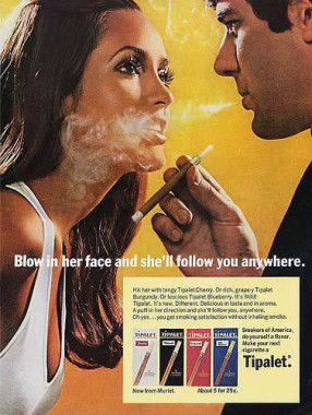 cigarette vintage ad