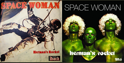 space-woman-album-covers